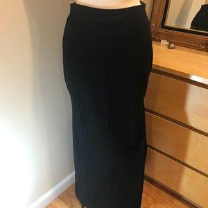 Abercrombie Black straight skirt with slits